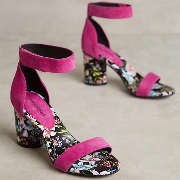 fd12fdd8a56e Jeffrey Campbell Shoes - Anthropologie Jeffrey Campbell Purdy floral Heels